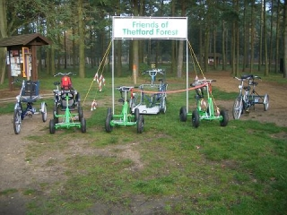 Mobility Cycles purchased by FoTF